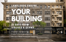 Tenant Sanitization & Germ Surface Protection