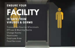 Facility Covid Sanitization & Germ Surface Protection
