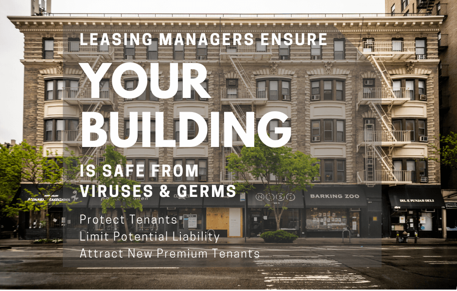 Leasing Covid Sanitization & Germ Surface Protection