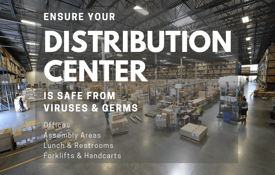 Warehouse and Distribution Center Covid Sanitization & Germ Surface Protection